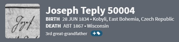 This image has an empty alt attribute; its file name is ancestry-header-joseph-teply-50004.jpg