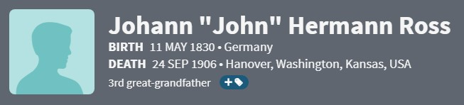 John Hermann Ross 1830