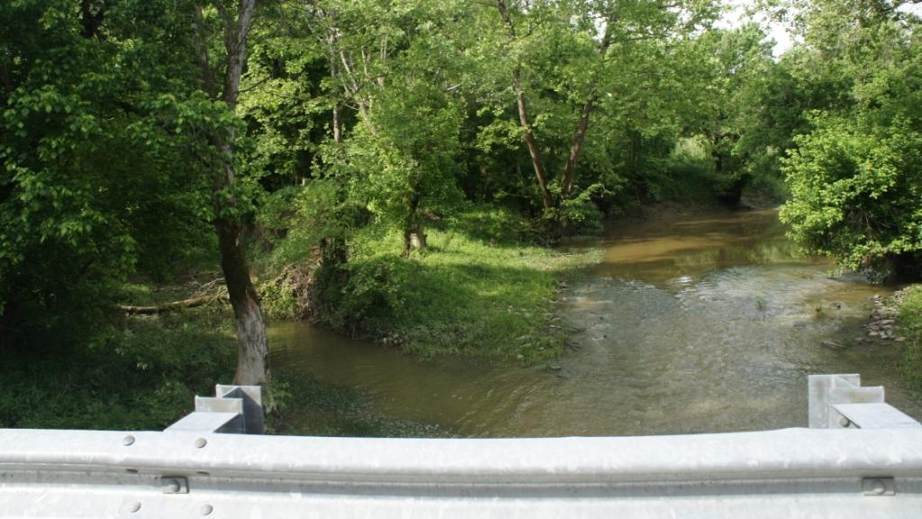 Fork Lick Creek - north side of Jarvis farm
